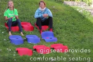 GIGSEAT verknüpft auf Veranstaltungen Video